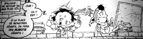 Sentai School - Stratéquerre et le fidèle Machin